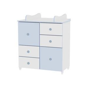 ΣΥΡΤΑΡΙΕΡΑ LORELLI CUPBOARD WHITE/BLUE