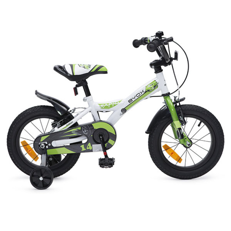 child bicycle rapid green-800×800